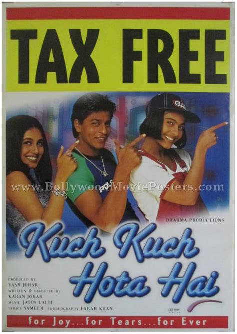 kuch kuch hota hai film of india kuch kuch hota hai bollywood movie posters