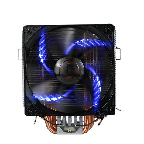 most quiet cpu fan pccooler 5 heatpipes radiator quiet 4pin cpu cooler