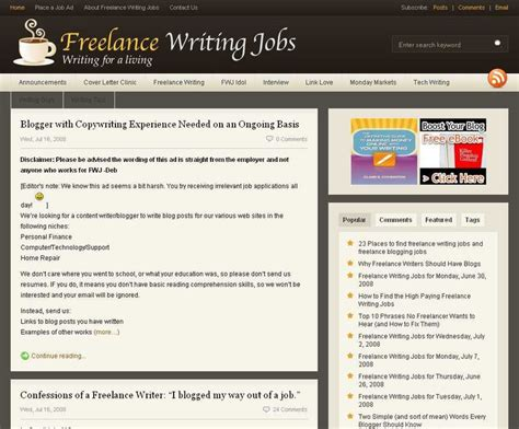blogger jobs top 9 places to find paid blogging jobs