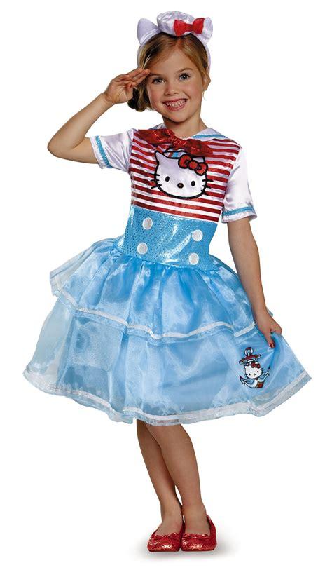 hello kitty toddler halloween costume kids hello kitty sailor girls costume 36 99 the