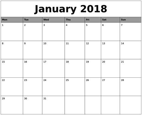 printable templates 2018 august template calendar