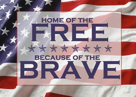 independence day home of the free because of the brave