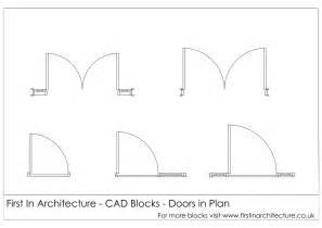 Blueprint Door Symbol by Free Cad Blocks Door Elevationsplans First In Architecture
