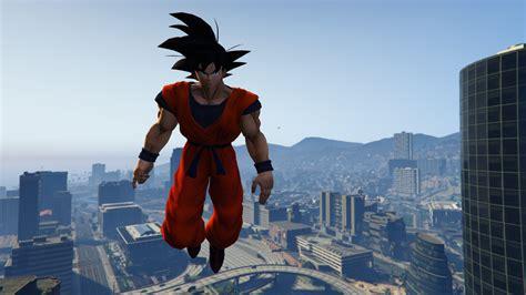 Goku Z z goku gta5 mods