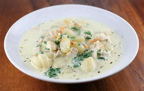 Olive Garden Vegetable Soup Olive Garden Chicken And Gnocchi Soup Recipe Cooking And