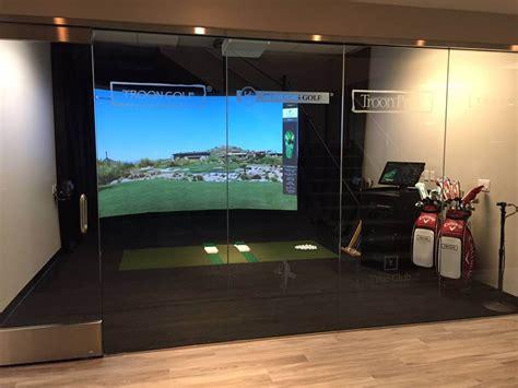 news high definition golf simulators
