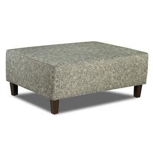 bauhaus r01a cocktail ottoman with exposed wood