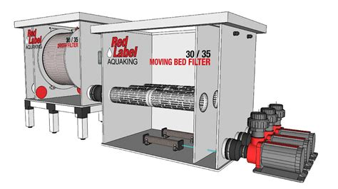 moving bed moving bed filter 30 35 aquaking red label series