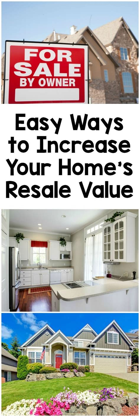 how to improve your home s resale value house
