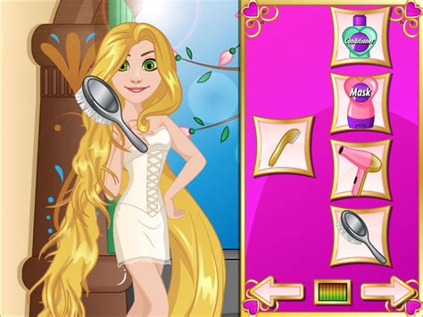 haircut games on gahe com rapunzel hairstyle games hairstyles