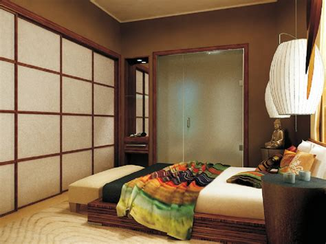 asian bedroom city zen space