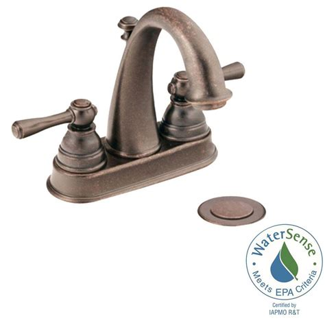 moen high arc bathroom faucet moen kingsley 4 in centerset 2 handle high arc bathroom