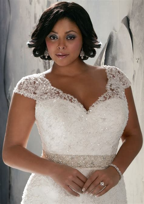 wedding hair for plus size brides plus size wedding dress of the week style 3144 by