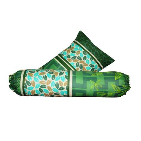 Harga Sarung Bantal Cinta 2017 monalisa sarung bantal guling garden hijau aneka textile