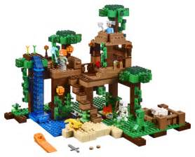 lego minecraft 2016 jungle tree house 21125 photos brick toy