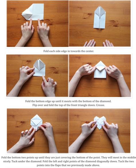 Origami Psst Pass This On Album On Imgur Fold Paper Into - how to make a letter into paper cover letter