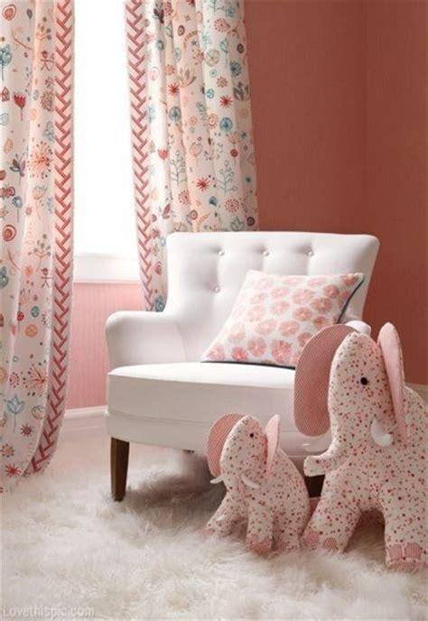 Elephant Curtains For Nursery Soft Pink Elephant Baby Room Baby Room Ideas