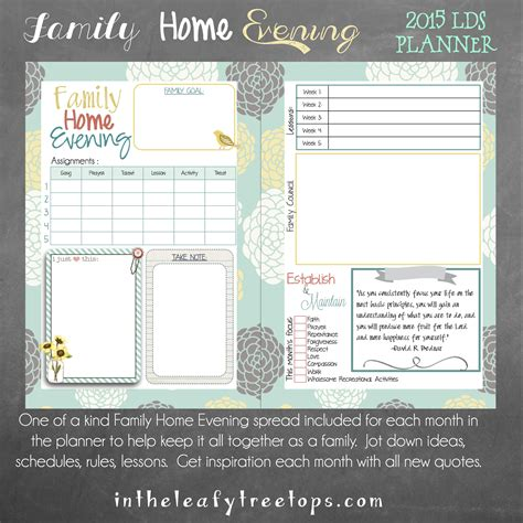mormon mom planner printable mormon mom planners monthly planner weekly planner 2015