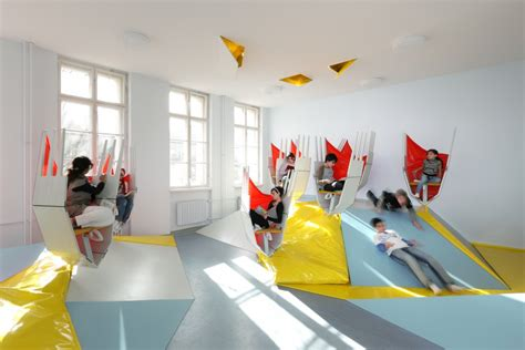 Interior Design School Berlin by Spatial Agency Baupiloten