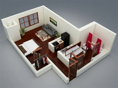 studio type house plan 50 studio type single room house lay out and interior design