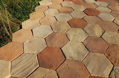antique reclaimed handmade terracotta floor tiles from