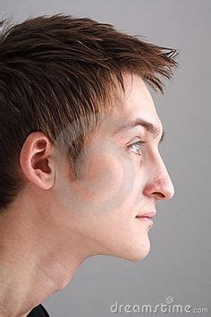 haircuts for protruding chin concave profile prominent forehead and chin with other