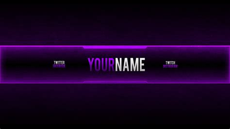 Youtube Banner 2048x1152 Best Business Template Gaming Channel Template