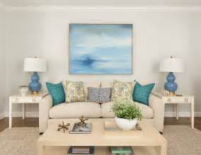 Blue And Green Home Decor by Renovated Home With Coastal Interiors Home Bunch