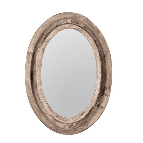 oval bathroom mirrors rustic finish oval mirror