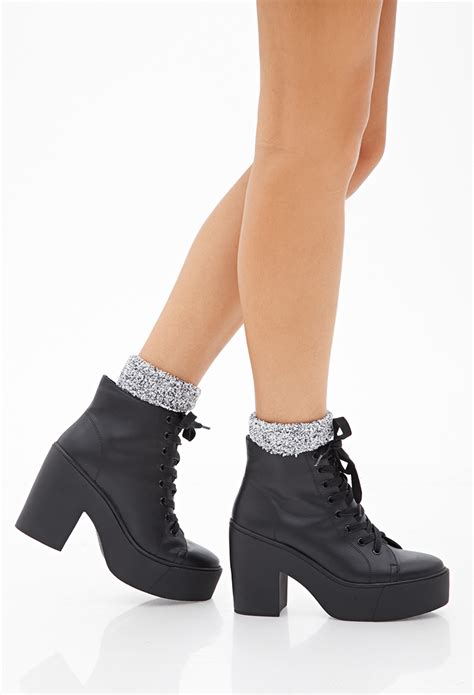 Lace Up Platform Boots related keywords suggestions for lace up platform boots