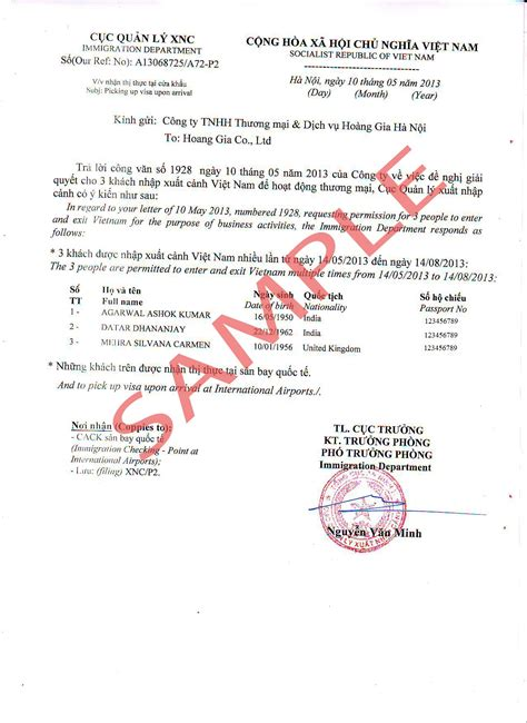 Visa Urgency Letter Visa 187 Archive The Validity Length Of Visa Approval Letter Visa