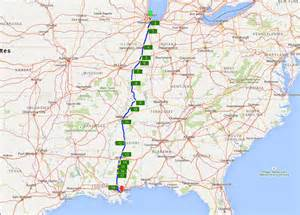 Map Memphis To New Orleans by City Of New Orleans Route Atlas Nanovor