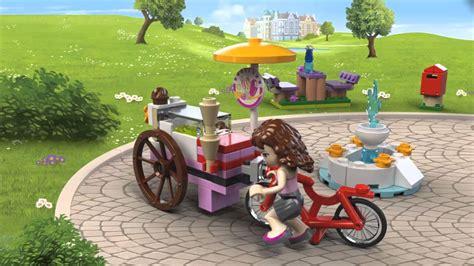 Lego 41030 Friends Olivias Bike lego 174 friends bike 41030 product animation