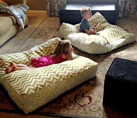 Bean Bag Chair With Built In Pillow And Blanket by Best 25 Floor Pillows Ideas On
