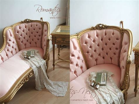 Chaise Lounge Tufted Pink And Gold Tufted 180 Chaise Lounge