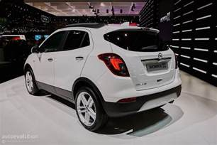 Vauxhall Mokka Interior 2016 Opel Mokka X Shows Off In Geneva Autoevolution