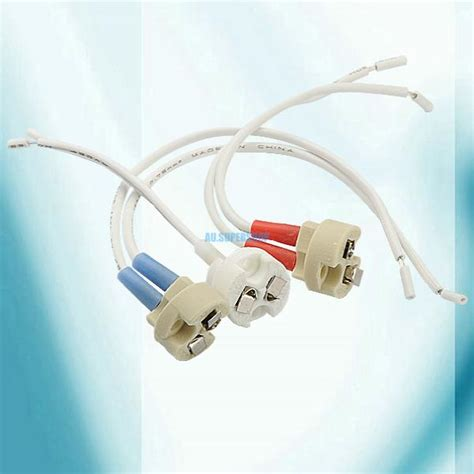 mr11 g9 ceramic l wire mains holder socket base