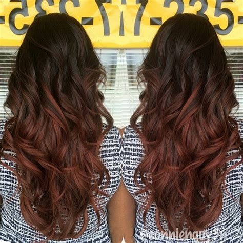 Ombre Hair Tutorial For Black Hair Hair by Black To Ombre Hair For Curly Hair Styles Weekly