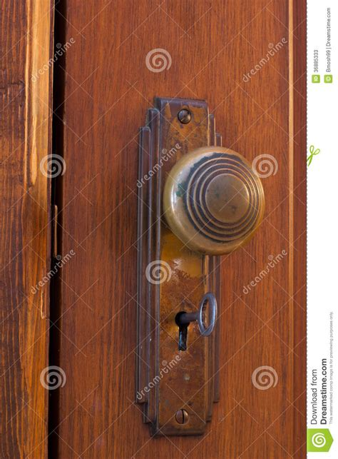 Inside Of Door Knob by Door Knob With Key Stock Photos Image 36885333