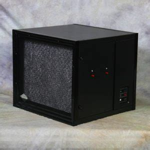 la 2000 industrial air purifier dual electric filters for industrial application