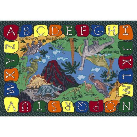 dinosaur rug carpets 1459e we dig dinosaurs rug 7 7 quot schoolsin