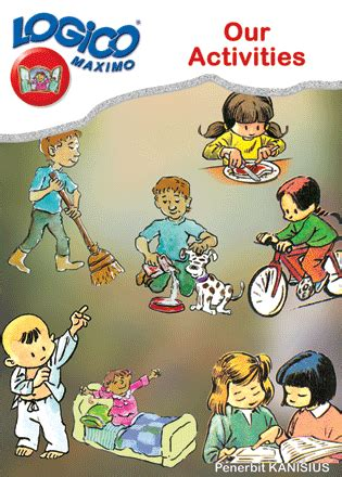 Activity Learning Words Buku Impor Import Anak Inggris teaching learning media logico i 5b