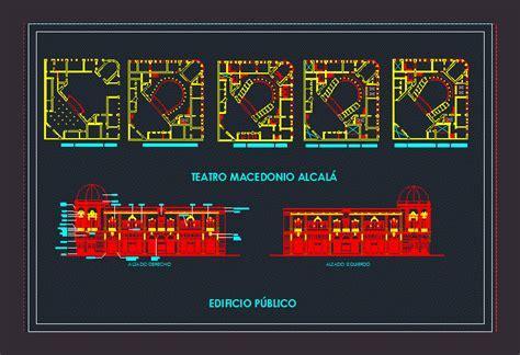Teatro Macedonio Alcalá DWG Block for AutoCAD ? Designs CAD