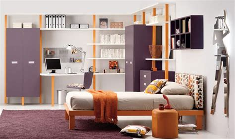 purple and orange bedroom teen bedrooms for girls panda s house