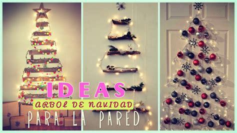 193 rbol de navidad para la pared ideas adornos navide 241 os