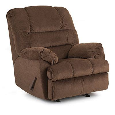 simmons bebop chocolate rocker recliner at big lots