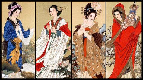 women in the ancient world four of the most beautiful chinese women of all time