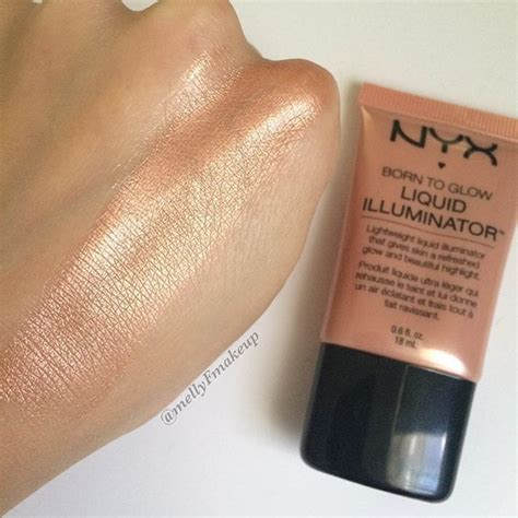 Nyx Born To Glow nyx born to glow liquid illuminator in gleam follow my
