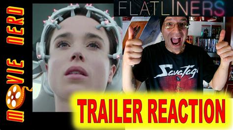 film flatliners trailer flatliners trailer reaction ellen page diego luna