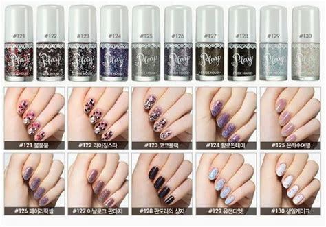 Kutek Etude House chibi s etude house korea etude play nail 150 warna